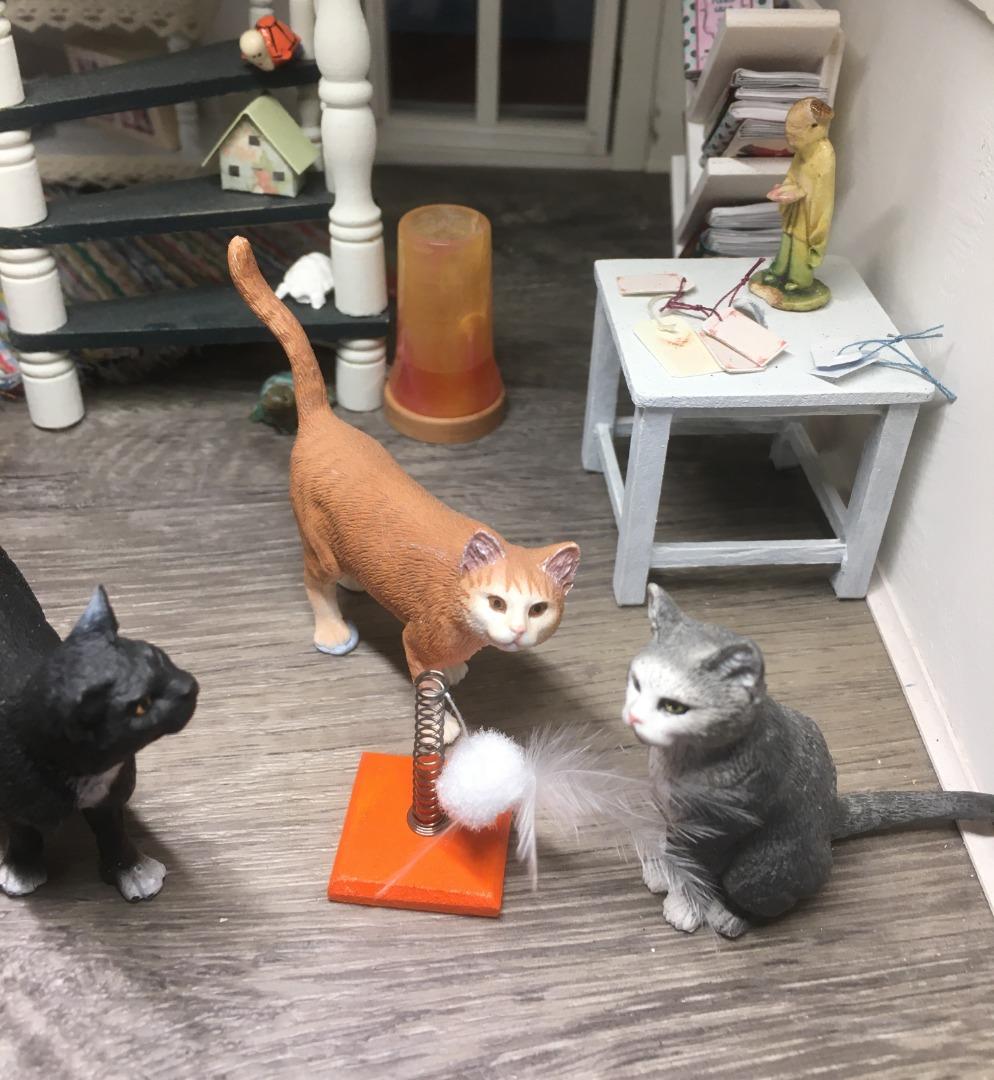 Spielzeug für die Katze 4
