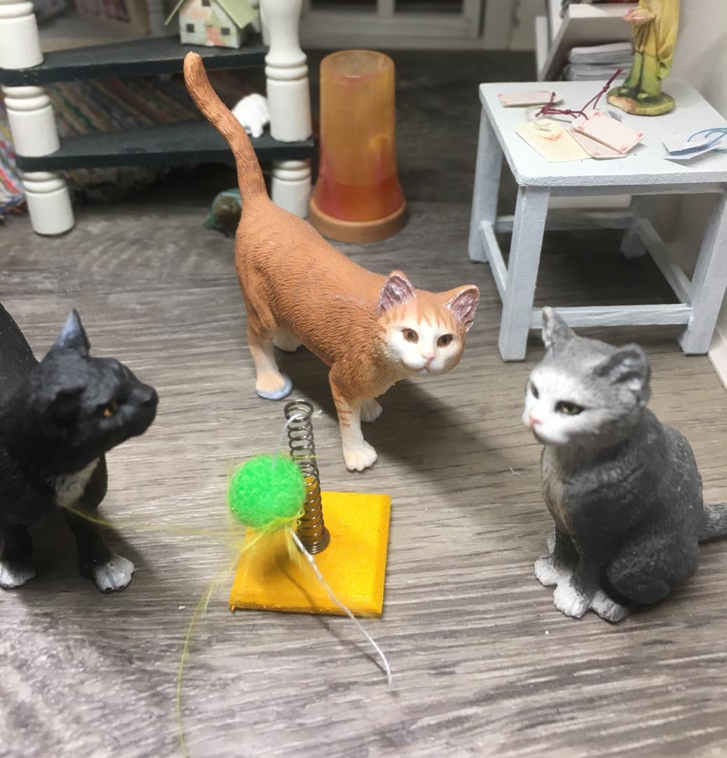 Spielzeug für die Katze 7