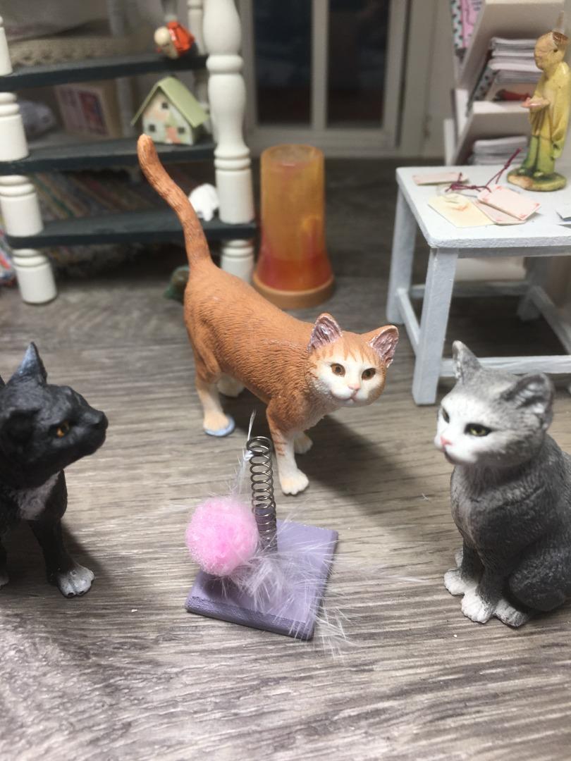 Spielzeug für die Katze 8