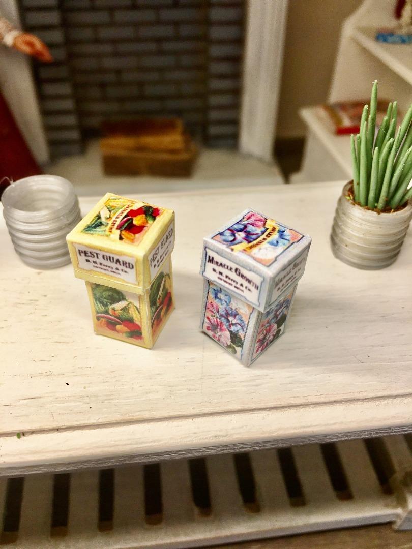 Box für Gartenprodukte 2