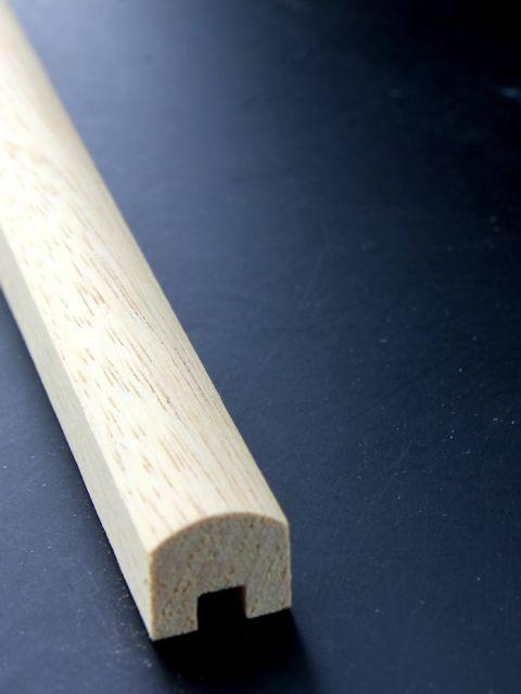 GeländerHandlauf cm Holz natur unbehandelt für