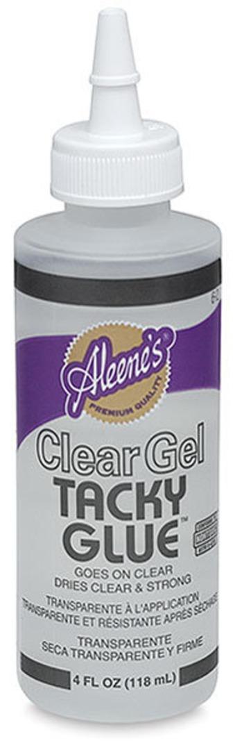 Alleenes Clear Gel Tacky Glue für