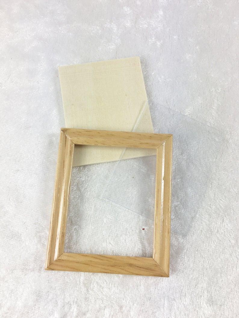Wechsel Bilderrahmen cm mit Holzrahmen für