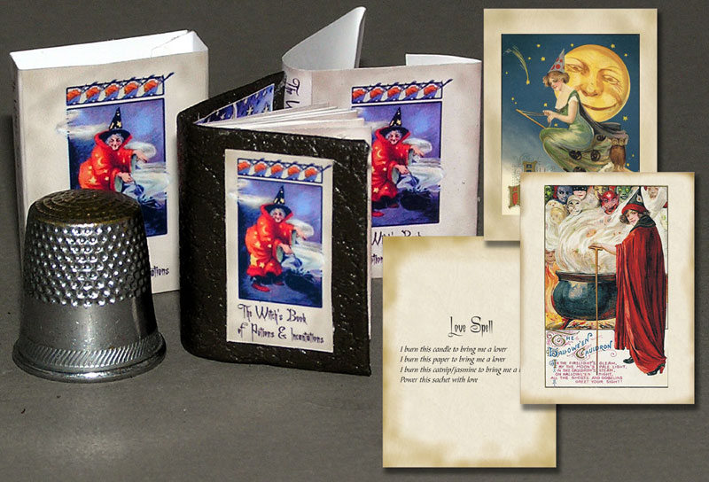 Das Hexenbuch Paperminis Bastelkit aus Papier