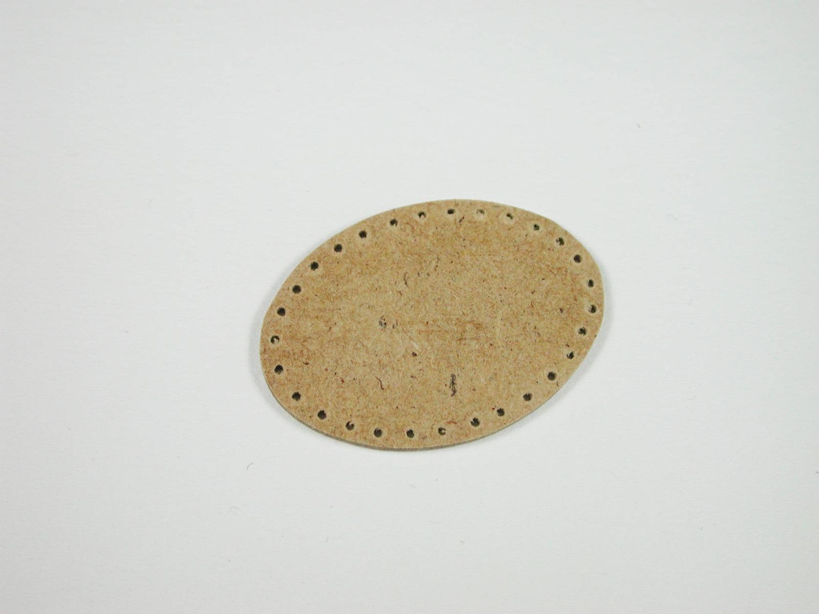 Brettchen ca cm oval für Einkaufskorb