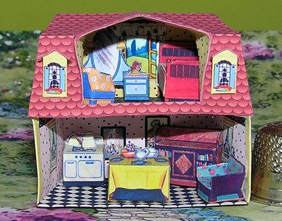 Art Deco Puppenhaus
