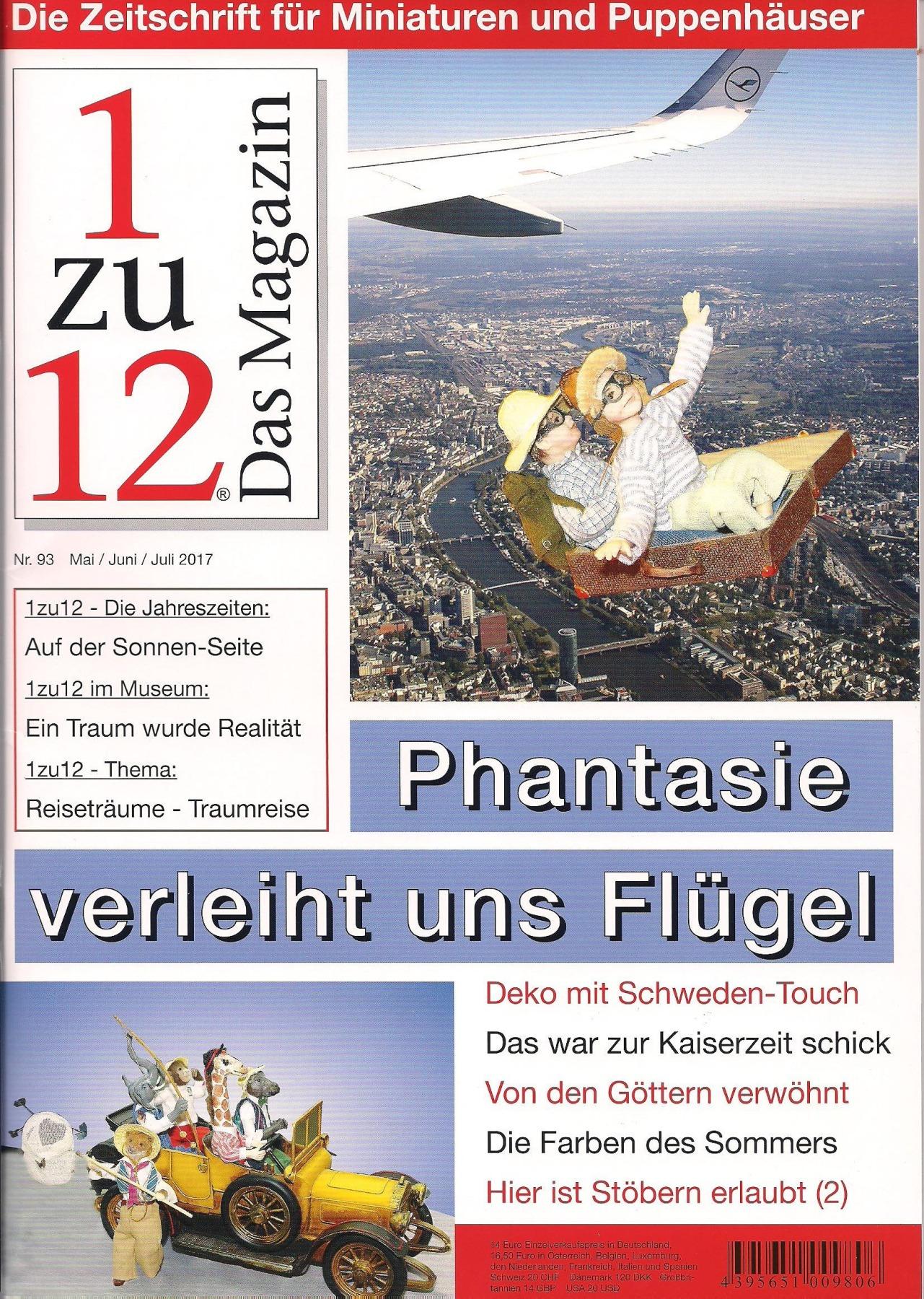 1zu12 Das Magazin die Zeitschrift für