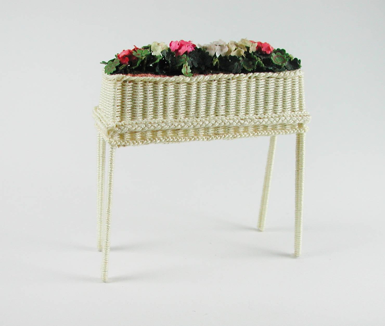 Brettchen ca cm für Blumenbank Boden