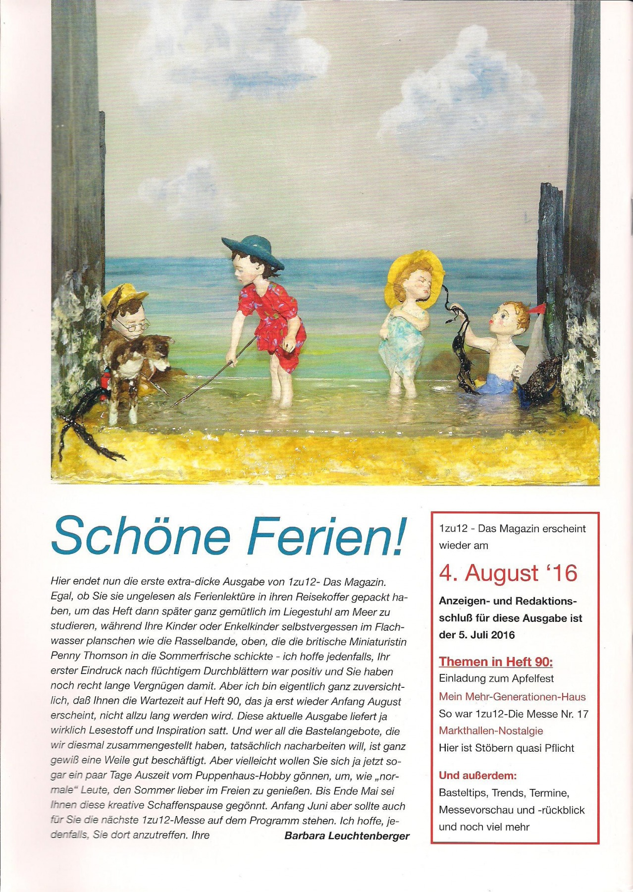 89- 1zu12 Das Magazin die Zeitschrift