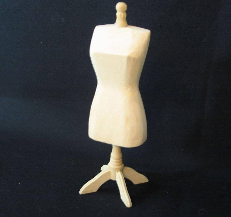 Schneiderbüste Kleiderbüste Schneiderpuppe für die Puppenstube