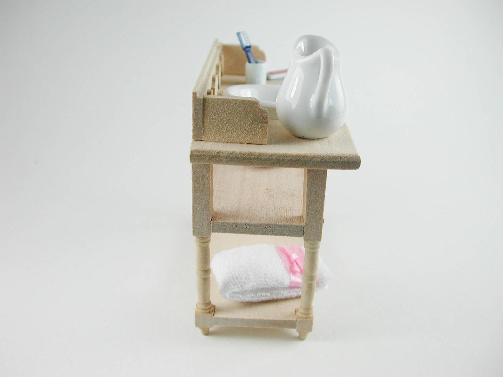 Waschtisch für die Puppenstube das Puppenhaus