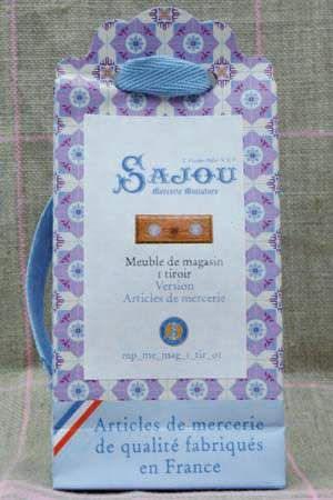 Sajou Miniatur Kurzwaren Schublade Articles de