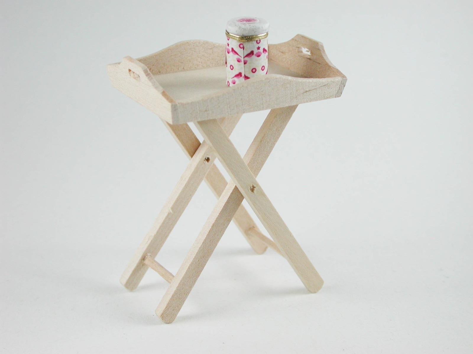 Stehtablett für die Puppenstube das Puppenhaus