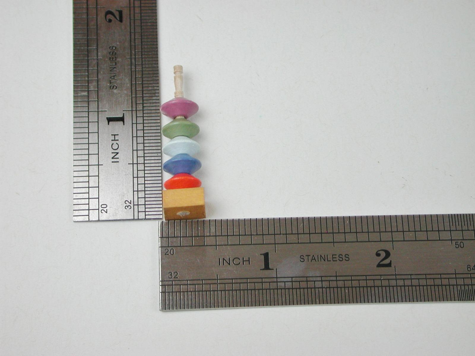 Steckspiel Turm in Miniatur 2