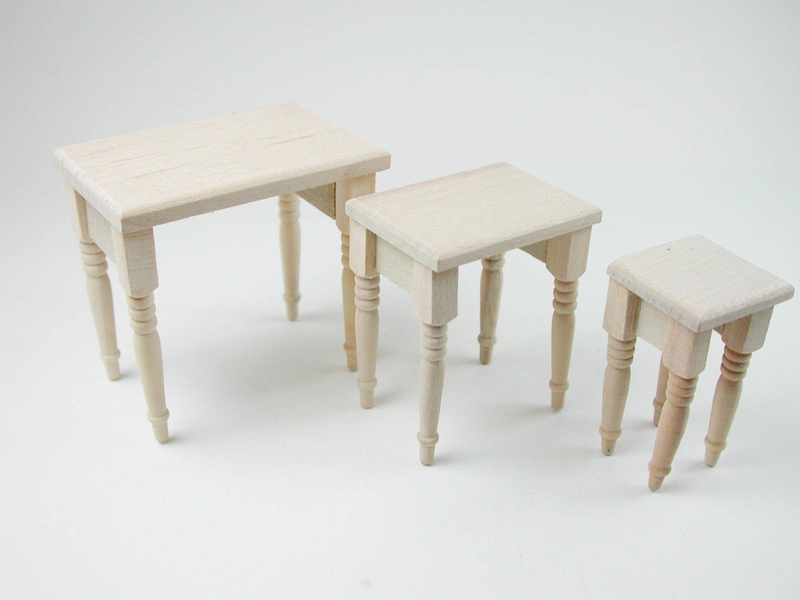 Tische Set Stück für die Puppenstube