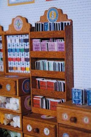 Sajou-Miniatur-Kurzwaren Sajou-Alben Blaue Serie Bastelkit aus