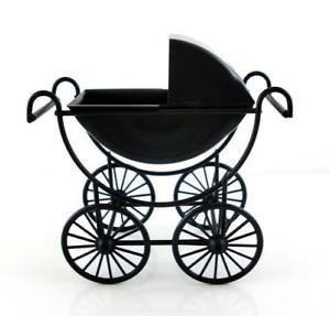 Kinderwagen für die Puppenstube das Puppenhaus