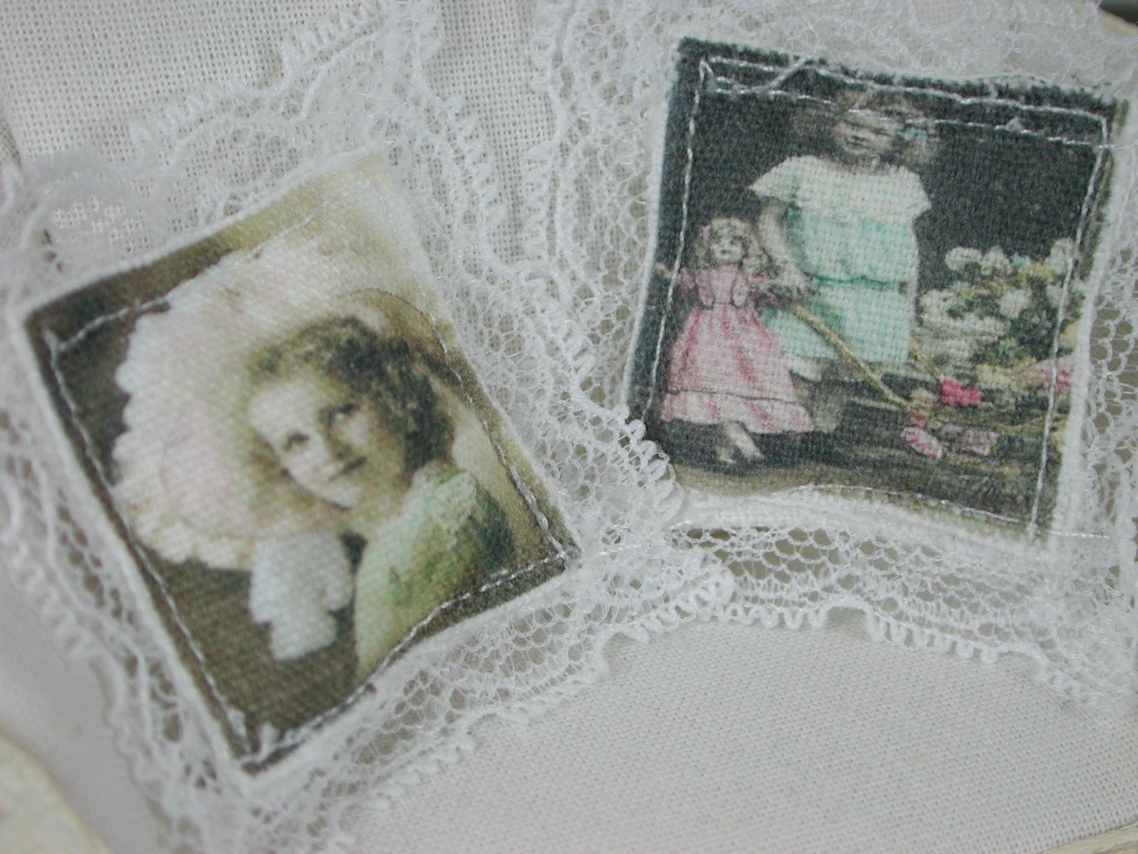 Vintage Kissen in Miniatur für das