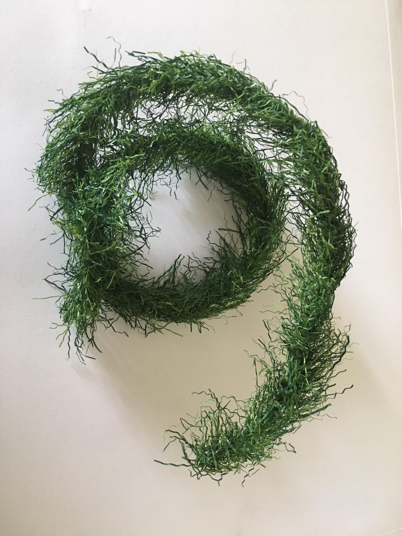 Grasgirlande in grün cm Grundpreis 3-