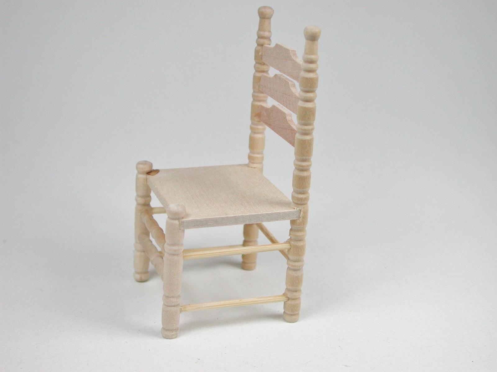 Stuhl für die Puppenstube das Puppenhaus