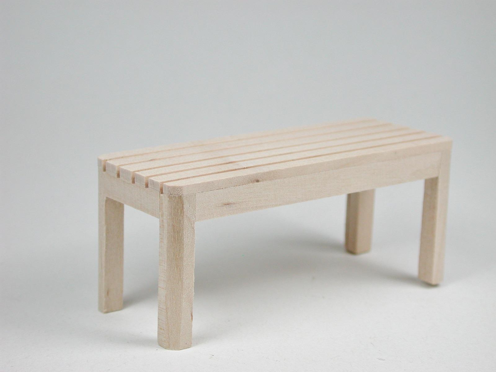 Gartentisch für die Puppenstube das Puppenhaus
