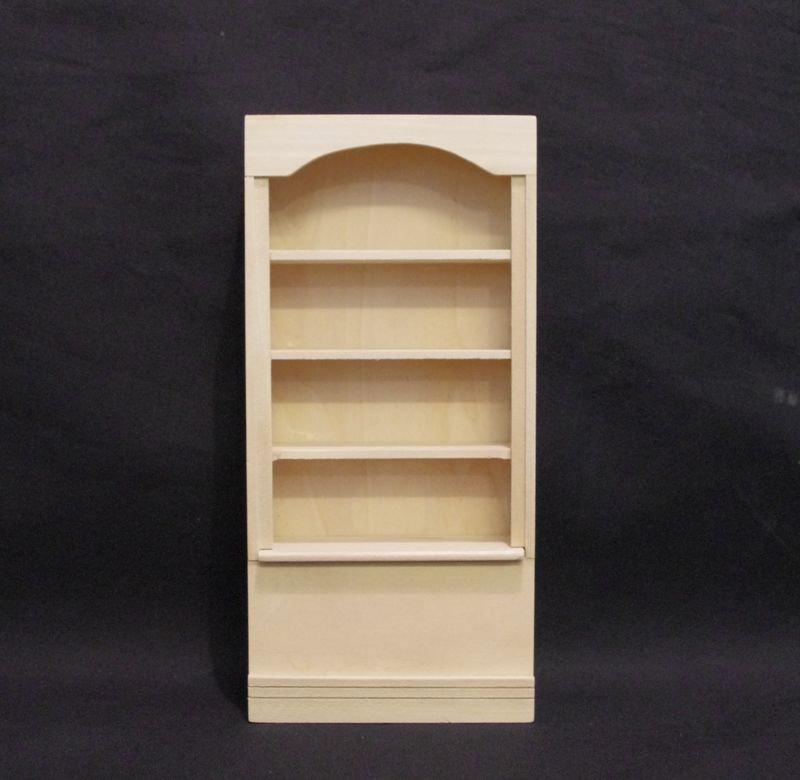 Bücherregal für die Puppenstube das Puppenhaus
