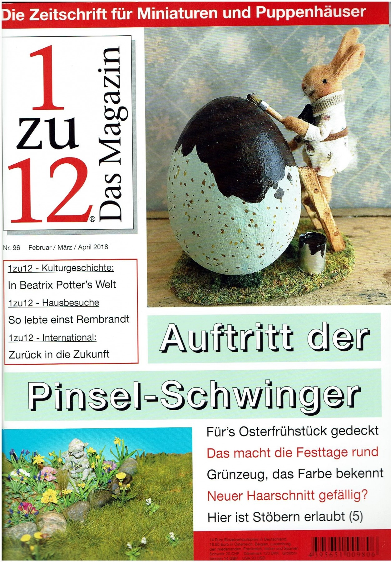 Nr 96- 1zu12 Das Magazin Februar/März/April