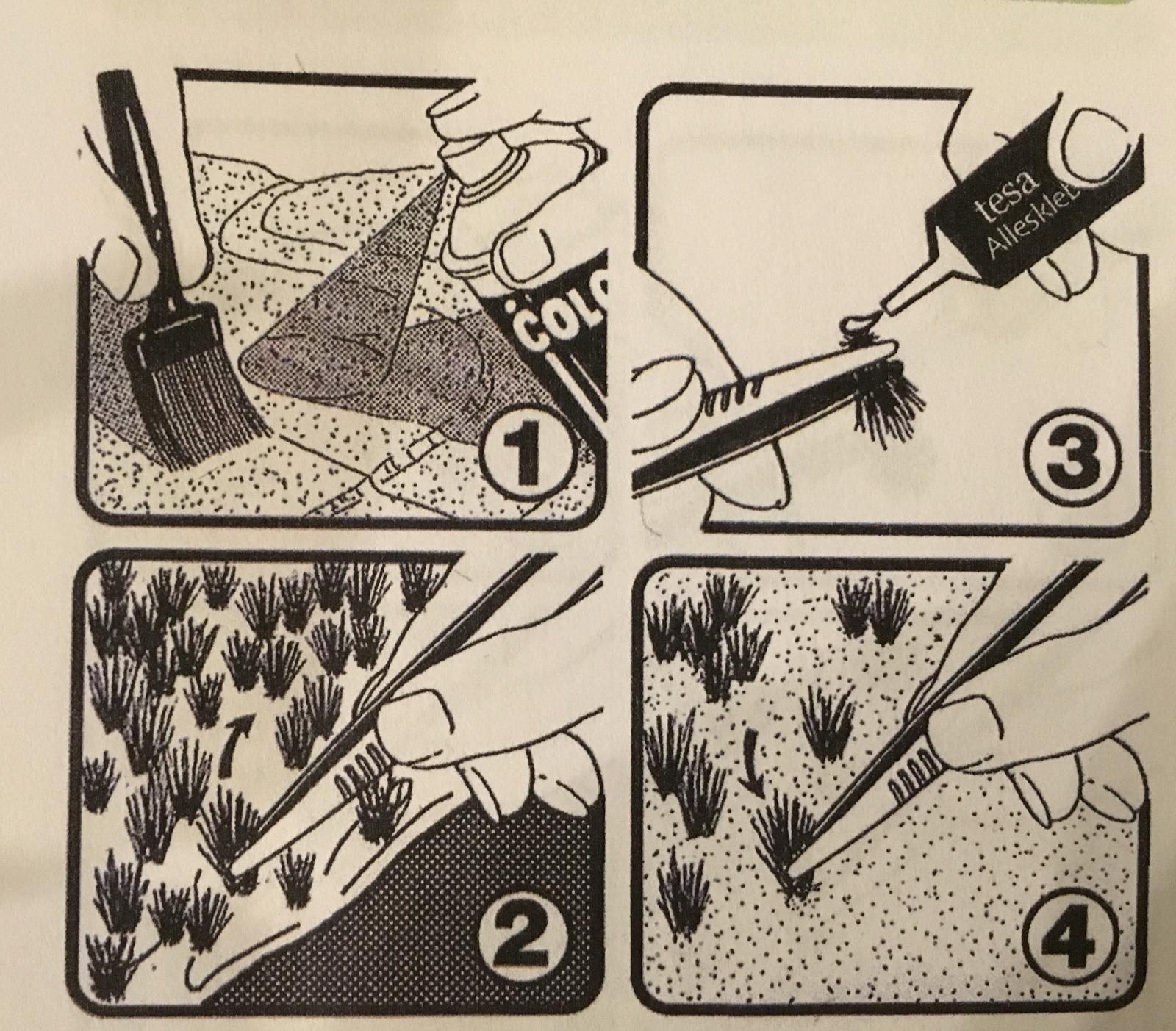 Unkrautbüschel für die Landschafts oder Gartengestaltung