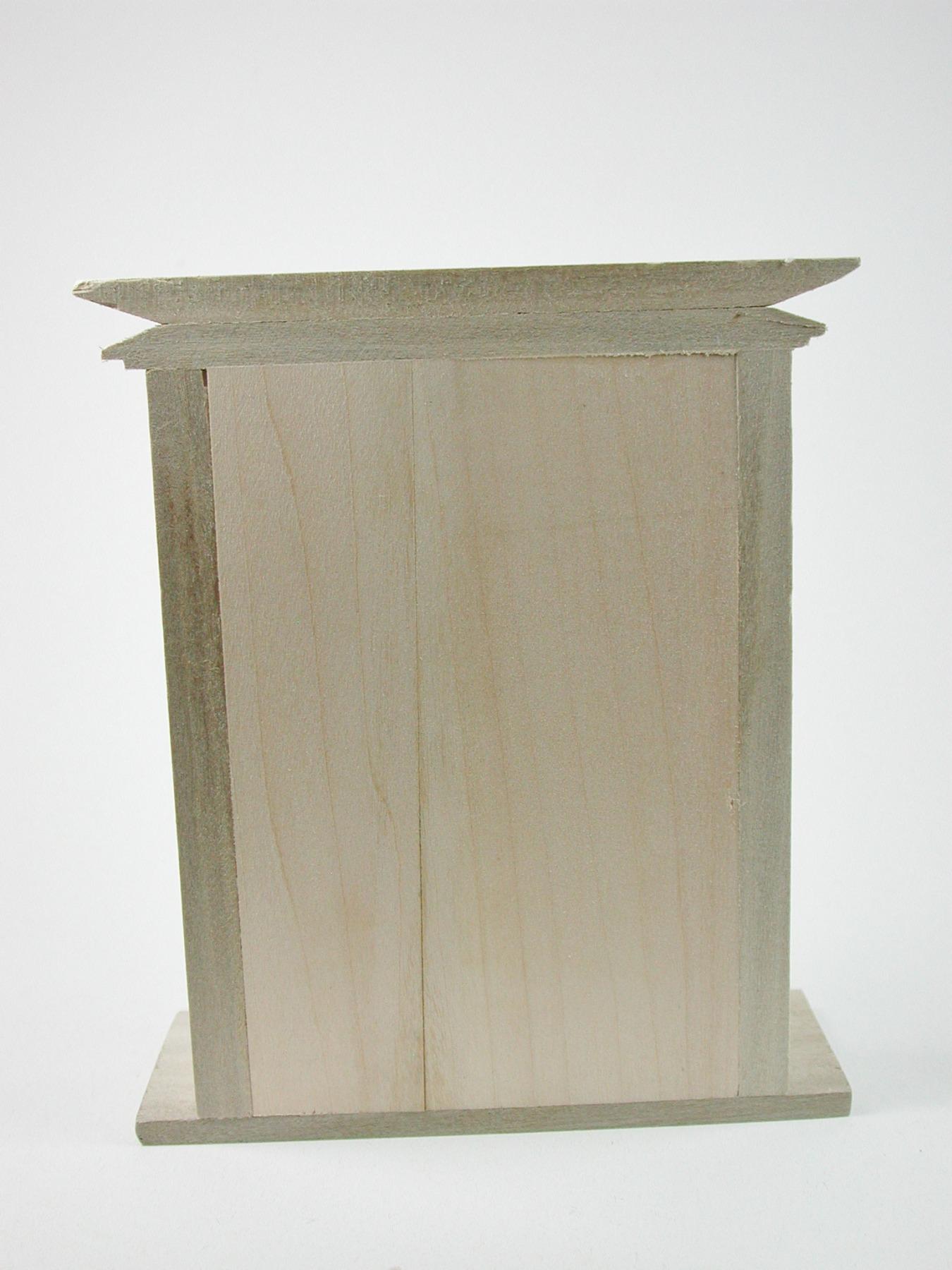 Kamin aus Holz unbehandelt für die