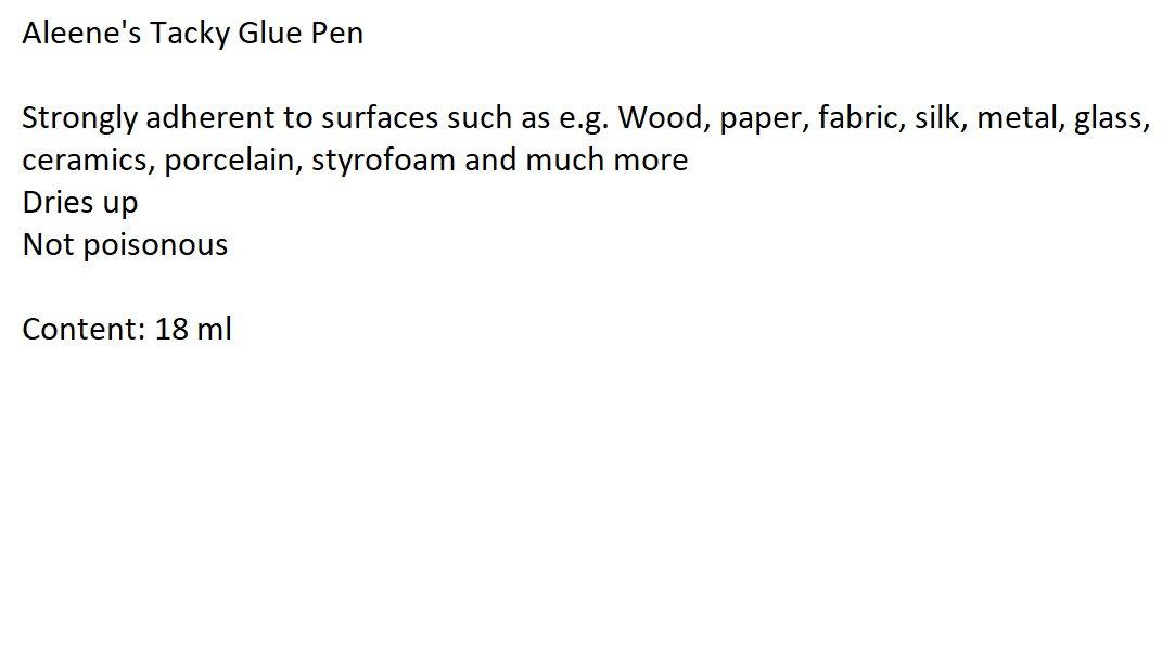 Aleenes Tacky Glue Pen für die