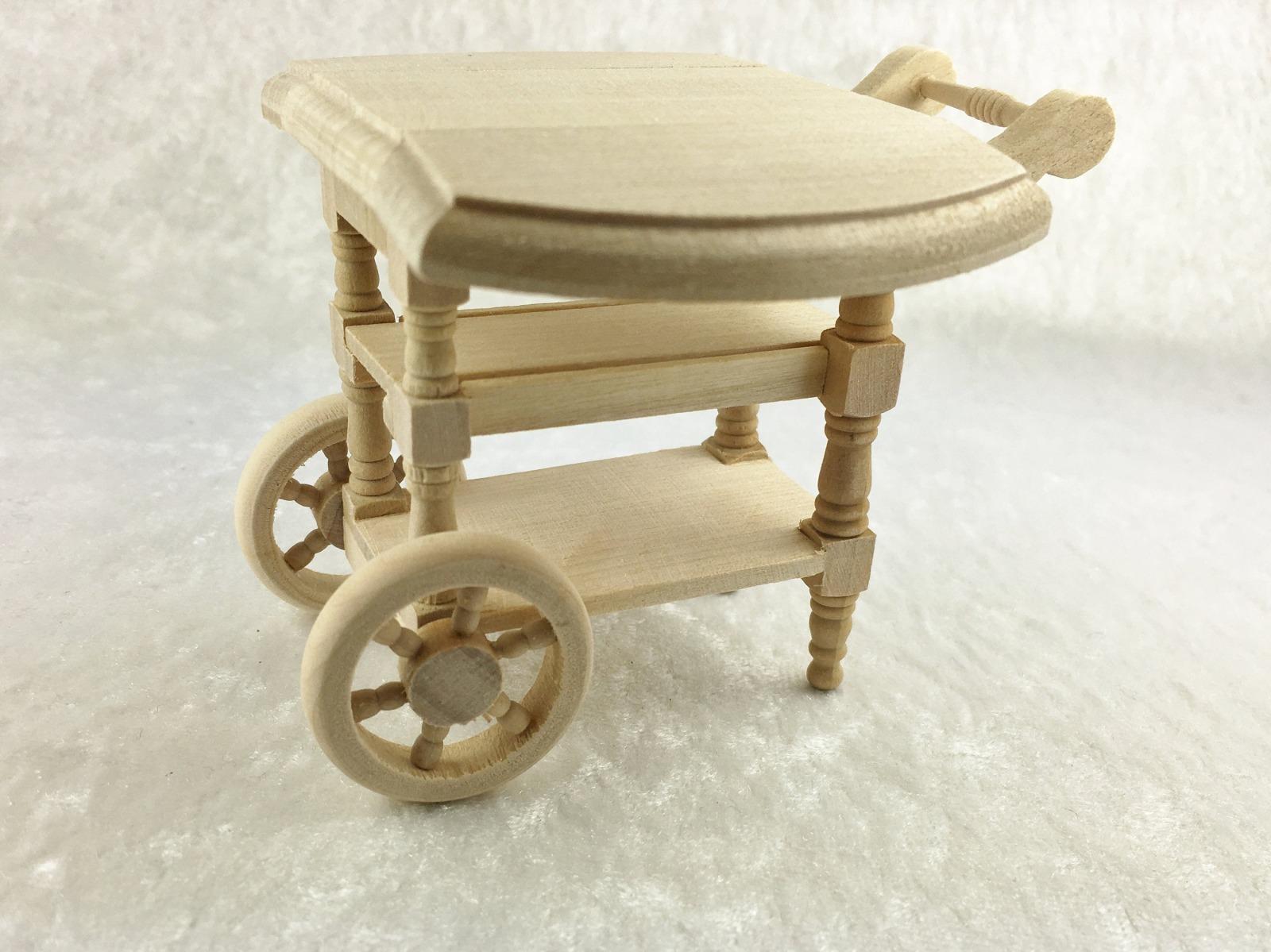 Teewagen für die Puppenstube das Puppenhaus