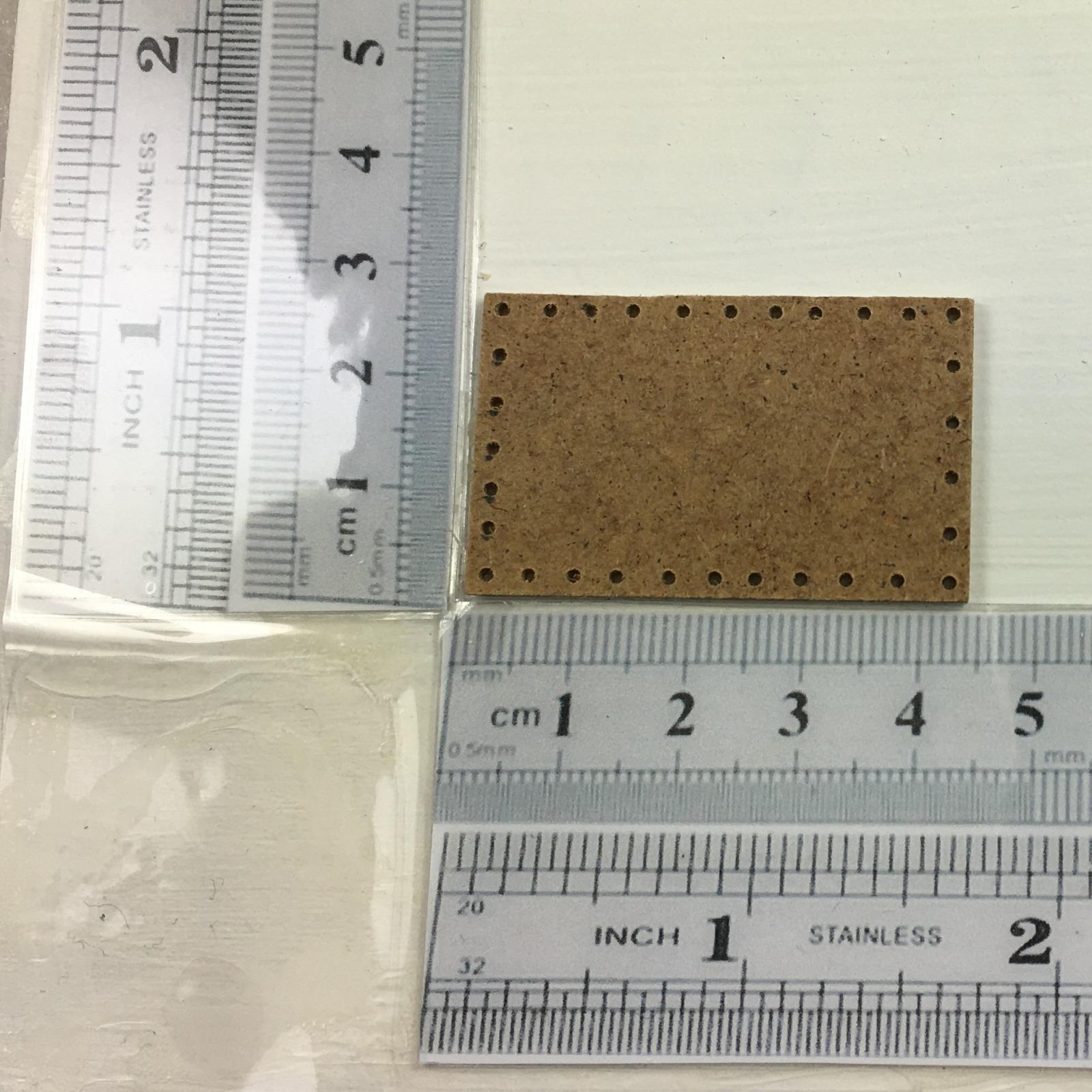 Brettchen ca cm für einen rechteckigen