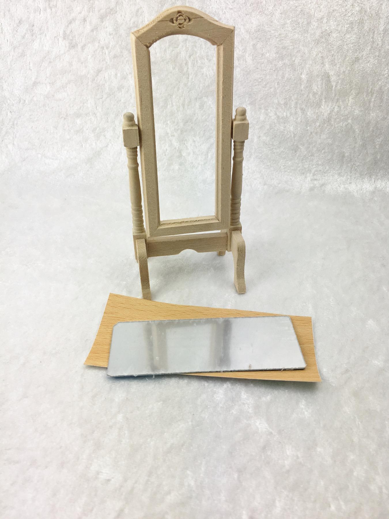 Standspiegel 1:12 Miniatur 8