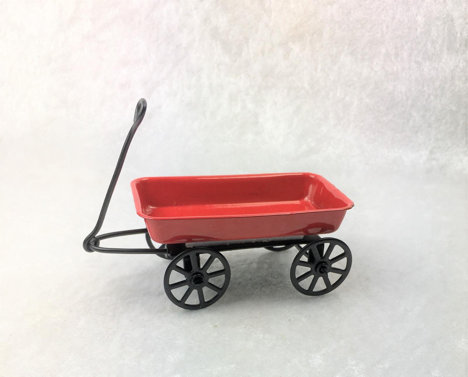 Handwagen Bollerwagen für die Puppenstube das