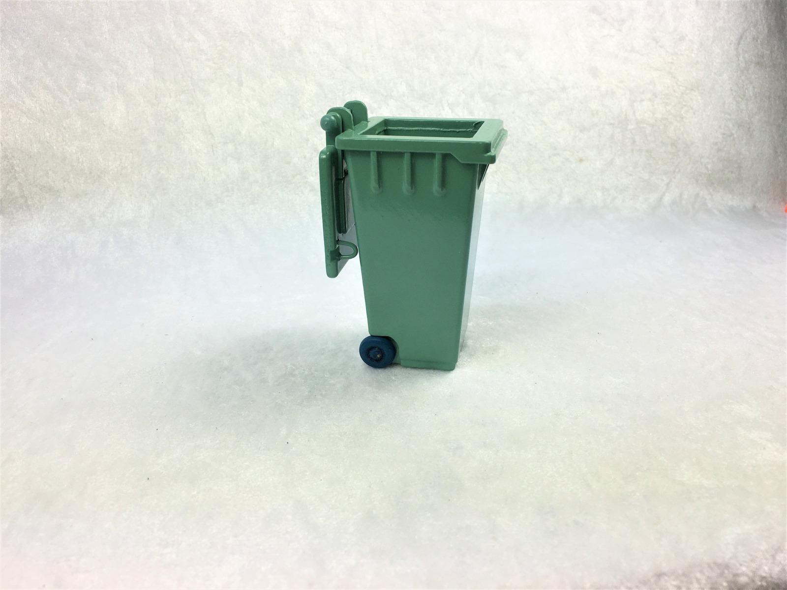 Grüne Abfalltonne Mülltonne Biomülltonne 3