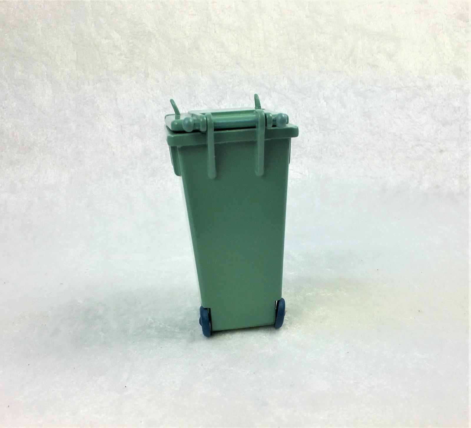 Grüne Abfalltonne Mülltonne Biomülltonne 6