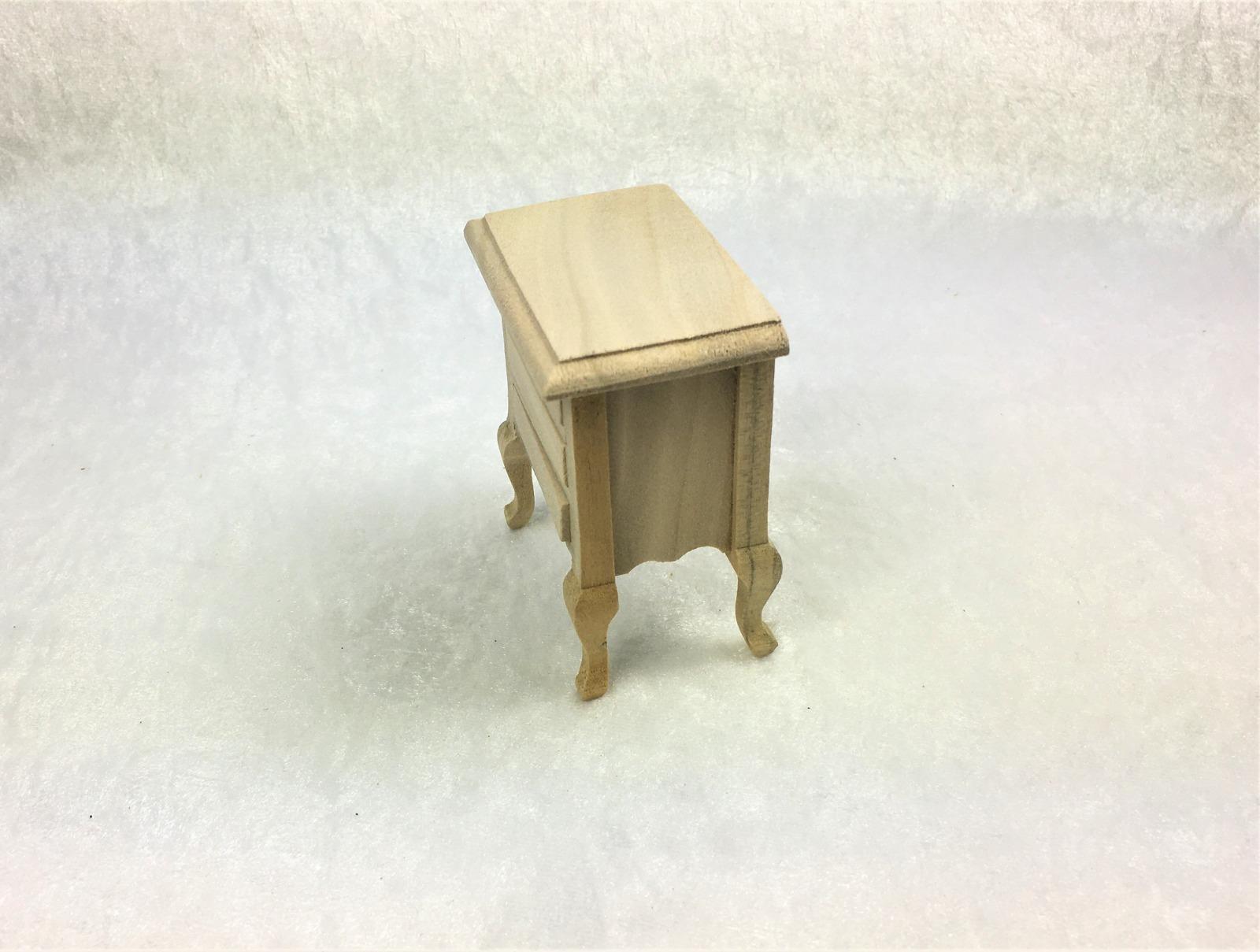 Kleine Kommode Nachttisch 1zu12 Miniatur 5