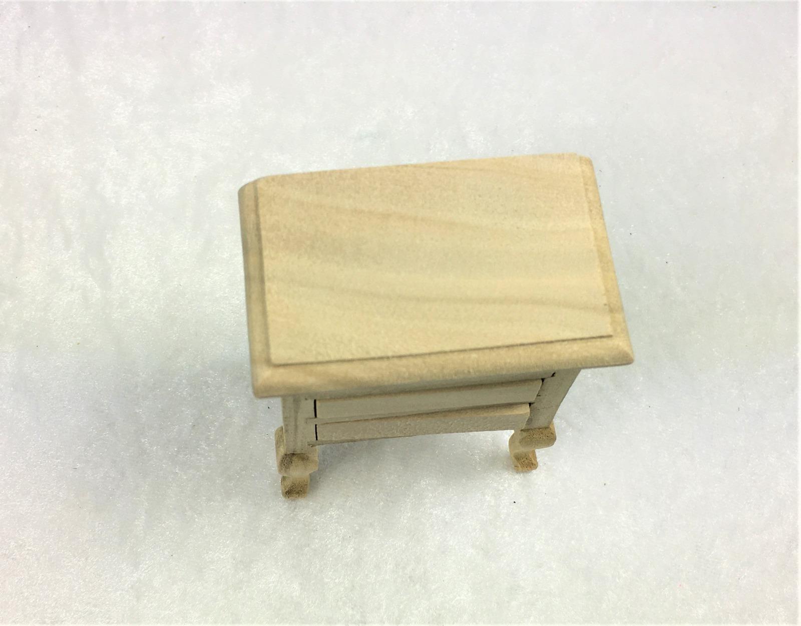 Kleine Kommode Nachttisch 1zu12 Miniatur 6