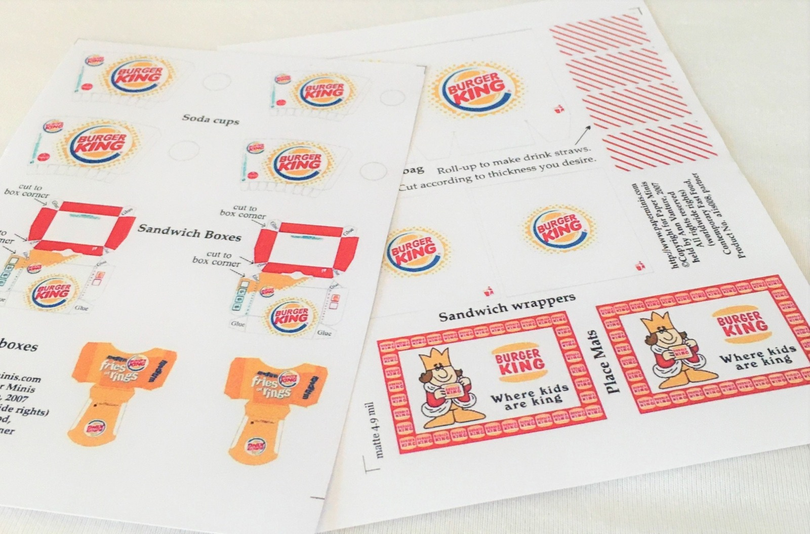 Fastfood Burger King
