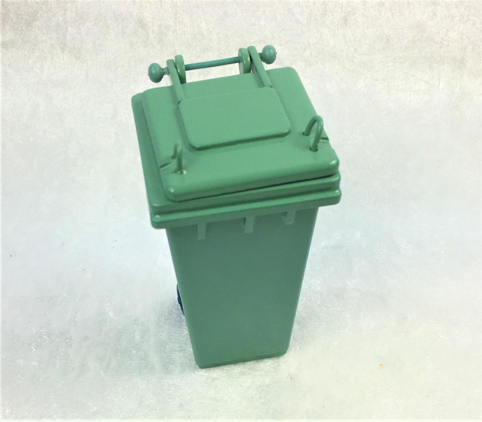 Grüne Abfalltonne Mülltonne Biomülltonne 2