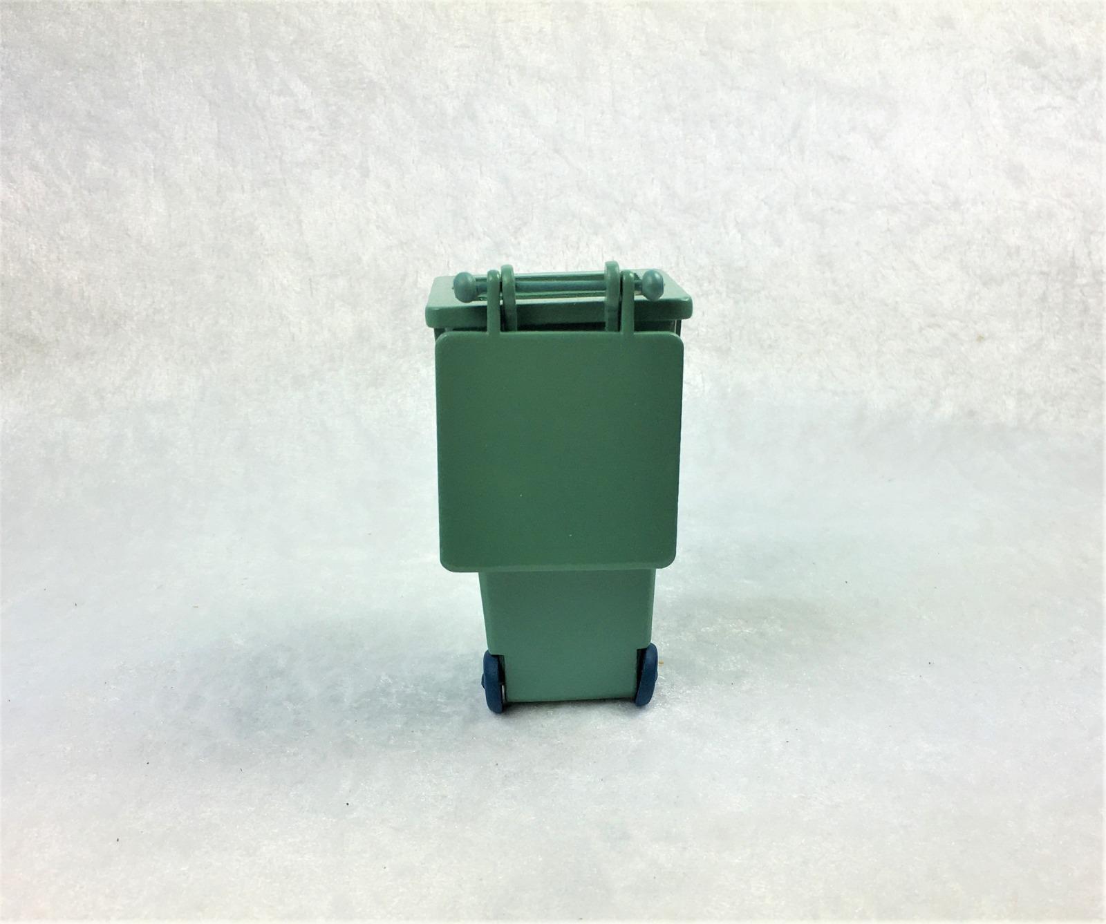 Grüne Abfalltonne Mülltonne Biomülltonne 5