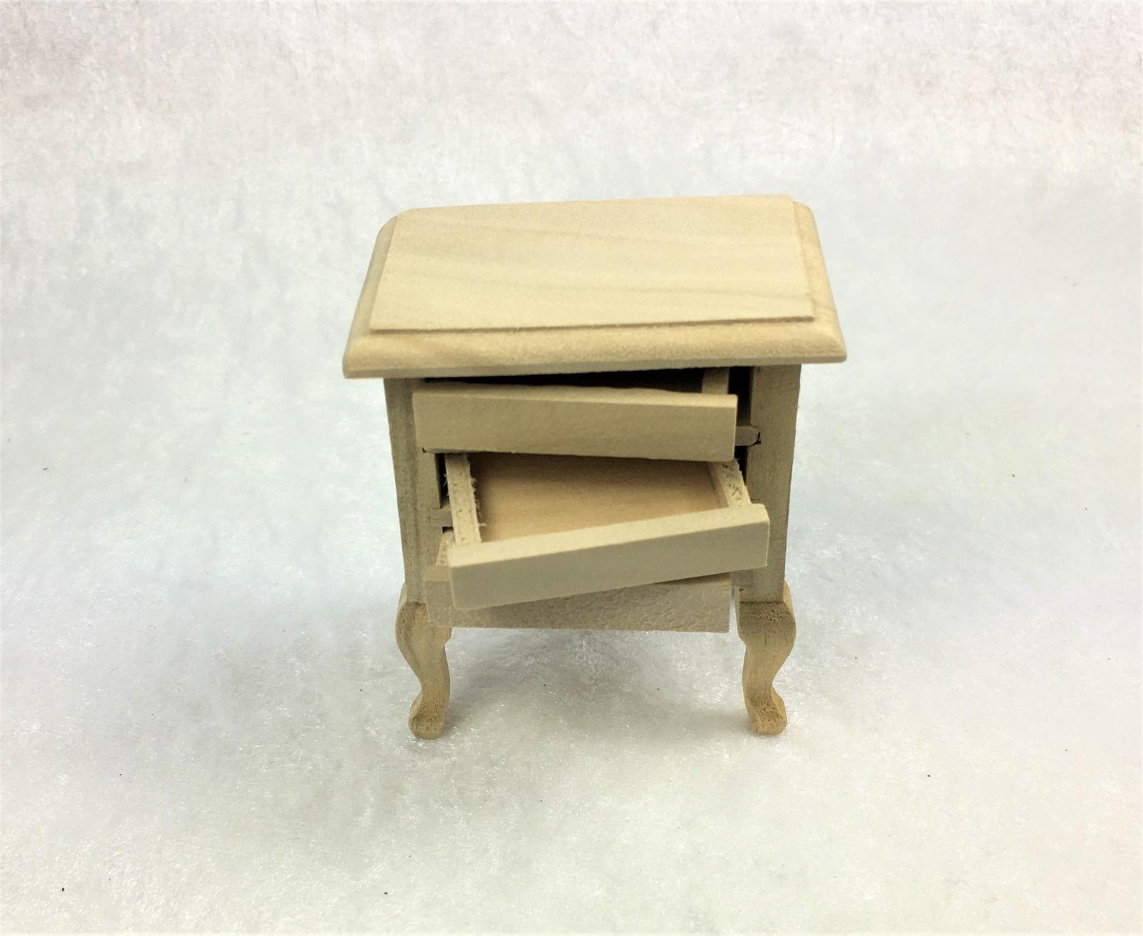 Kleine Kommode Nachttisch 1zu12 Miniatur 2