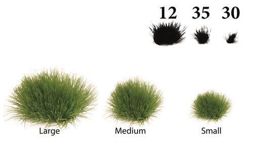 Grasbüschel für die Landschafts oder Gartengestaltung