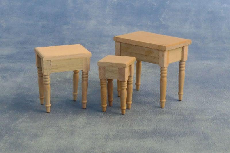 Tische Set 3 Stück 8