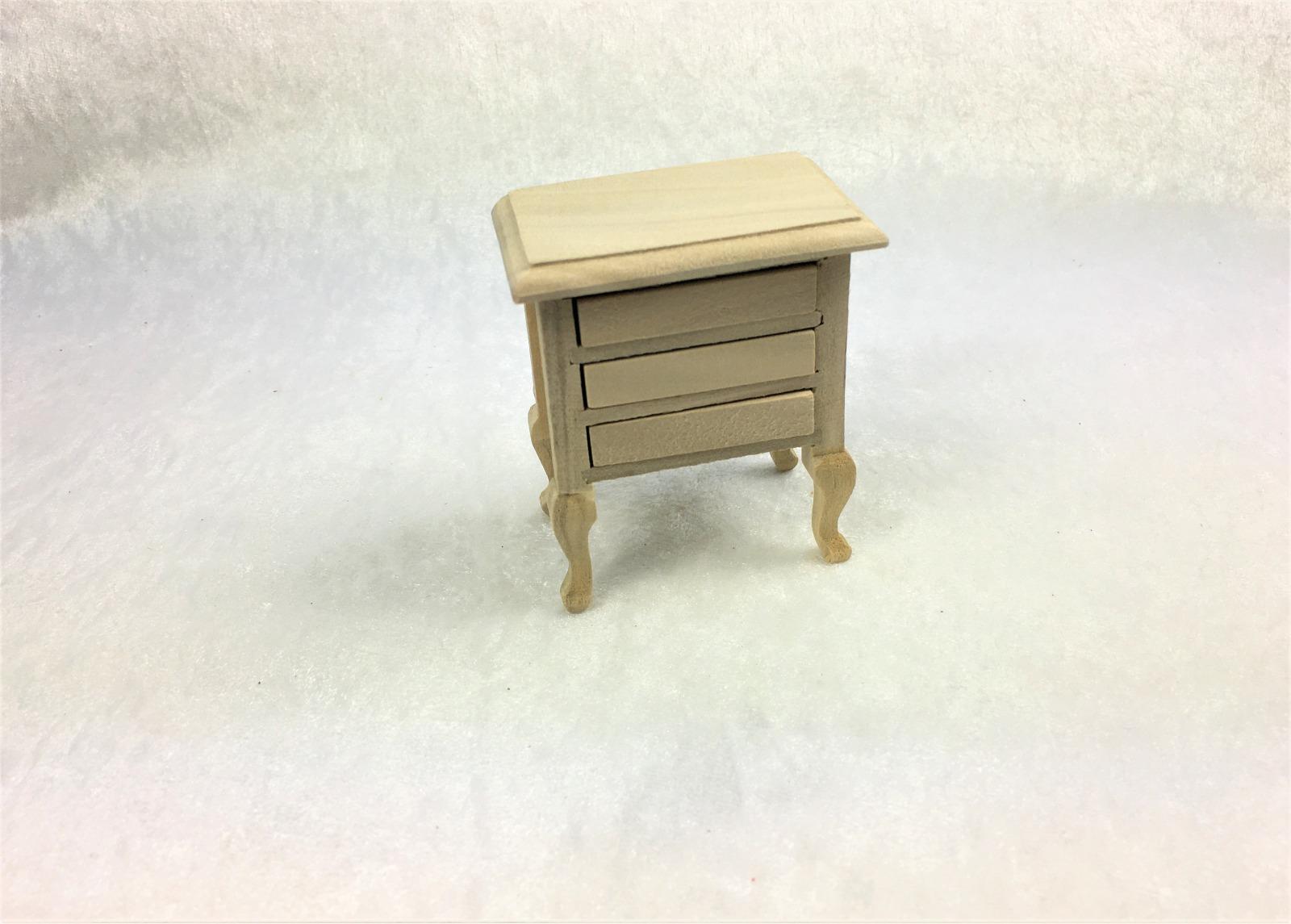 Kleine Kommode Nachttisch 1zu12 Miniatur