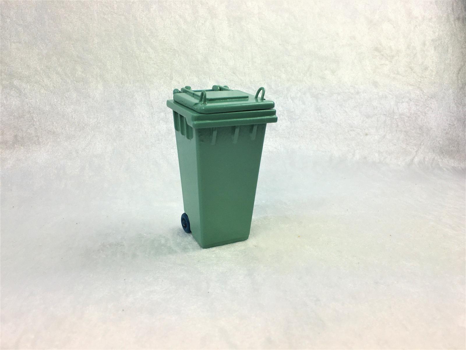 Grüne Abfalltonne Mülltonne Biomülltonne