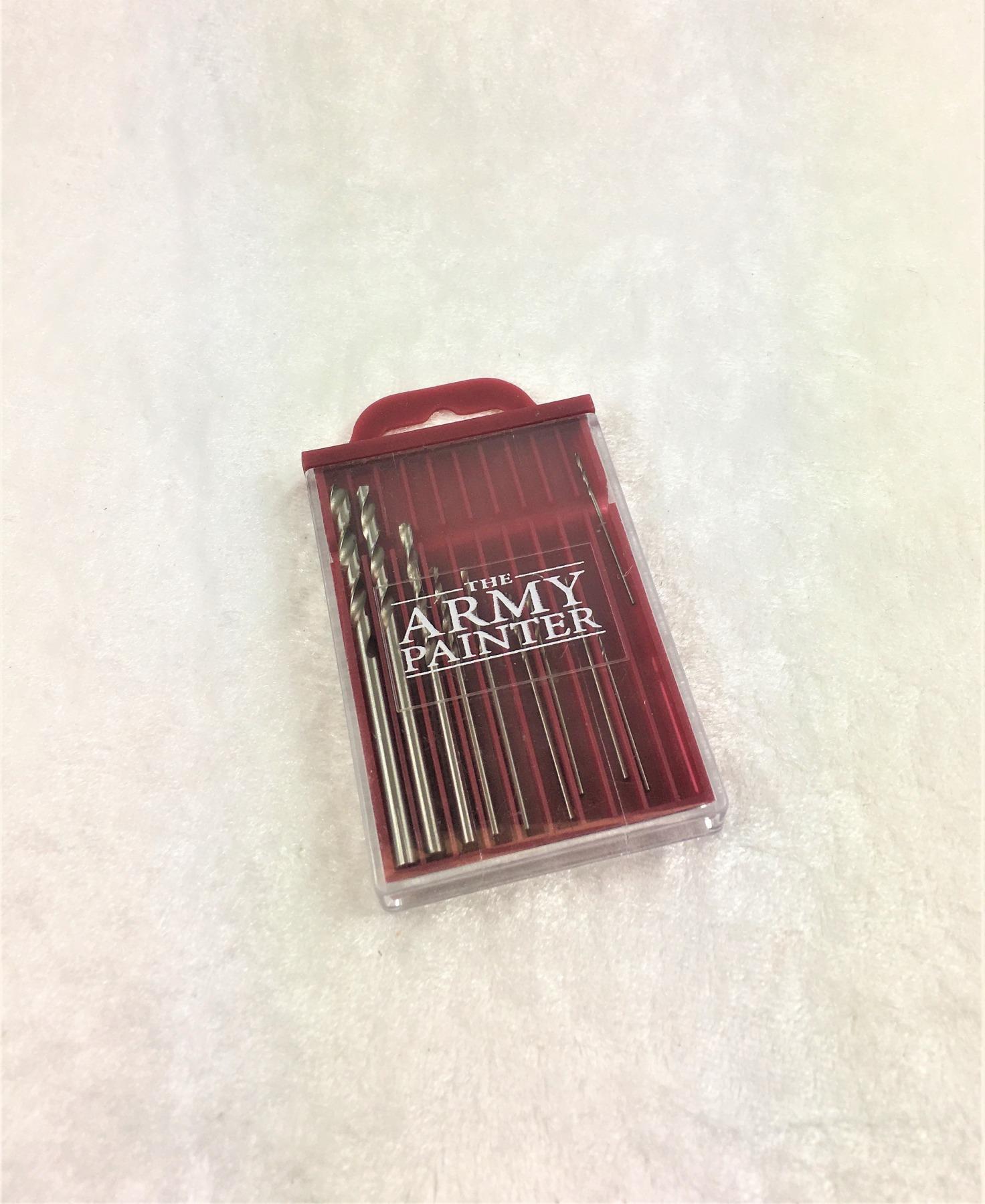 Set aus Bohrer für die Miniatur