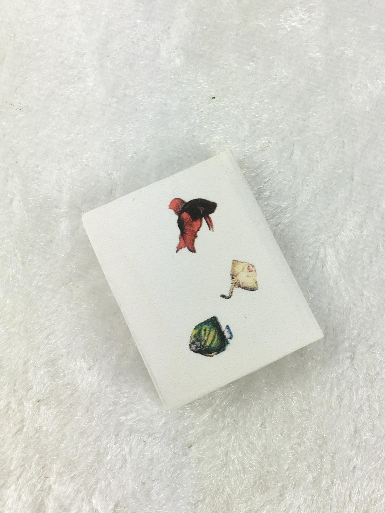 Buch Fische in Miniatur 1zu12 für