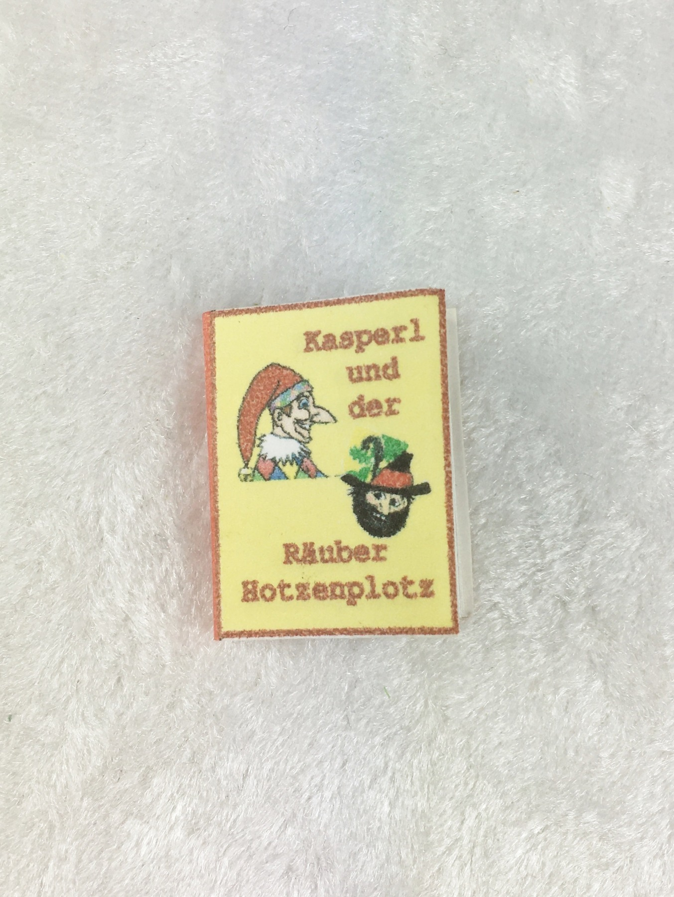 Buch Kasper und der Räuber Hotzenplotz