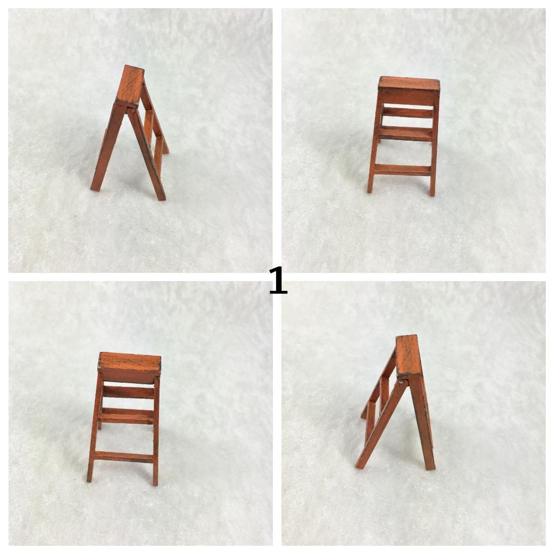 Kleine Leiter in Miniatur 1zu12